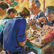 Kosovo craftsmen. 1975