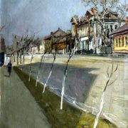 Spring on Maslovka. 1937