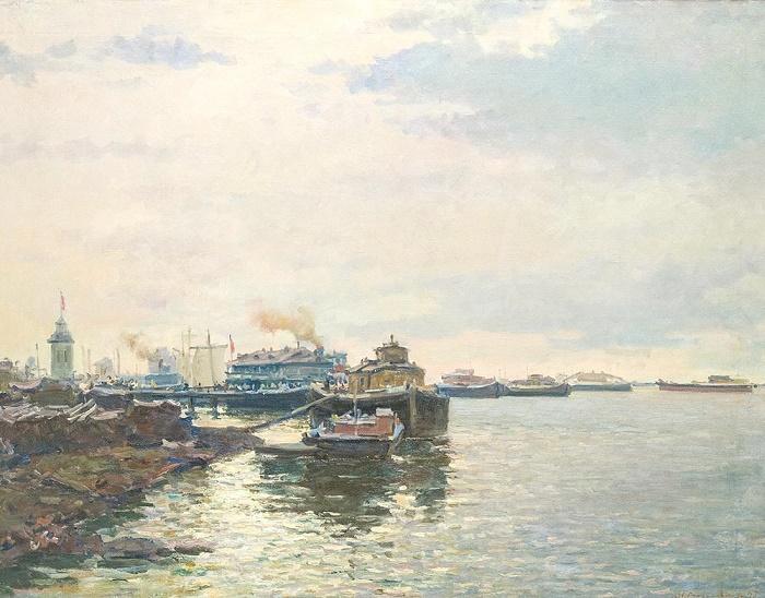 On the river Volga