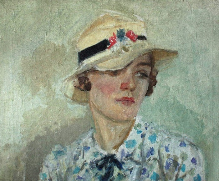 Portrait of N.K. Pimenova. 1936