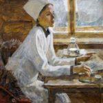 Soviet Yakut sculptor Pyotr Zakharov