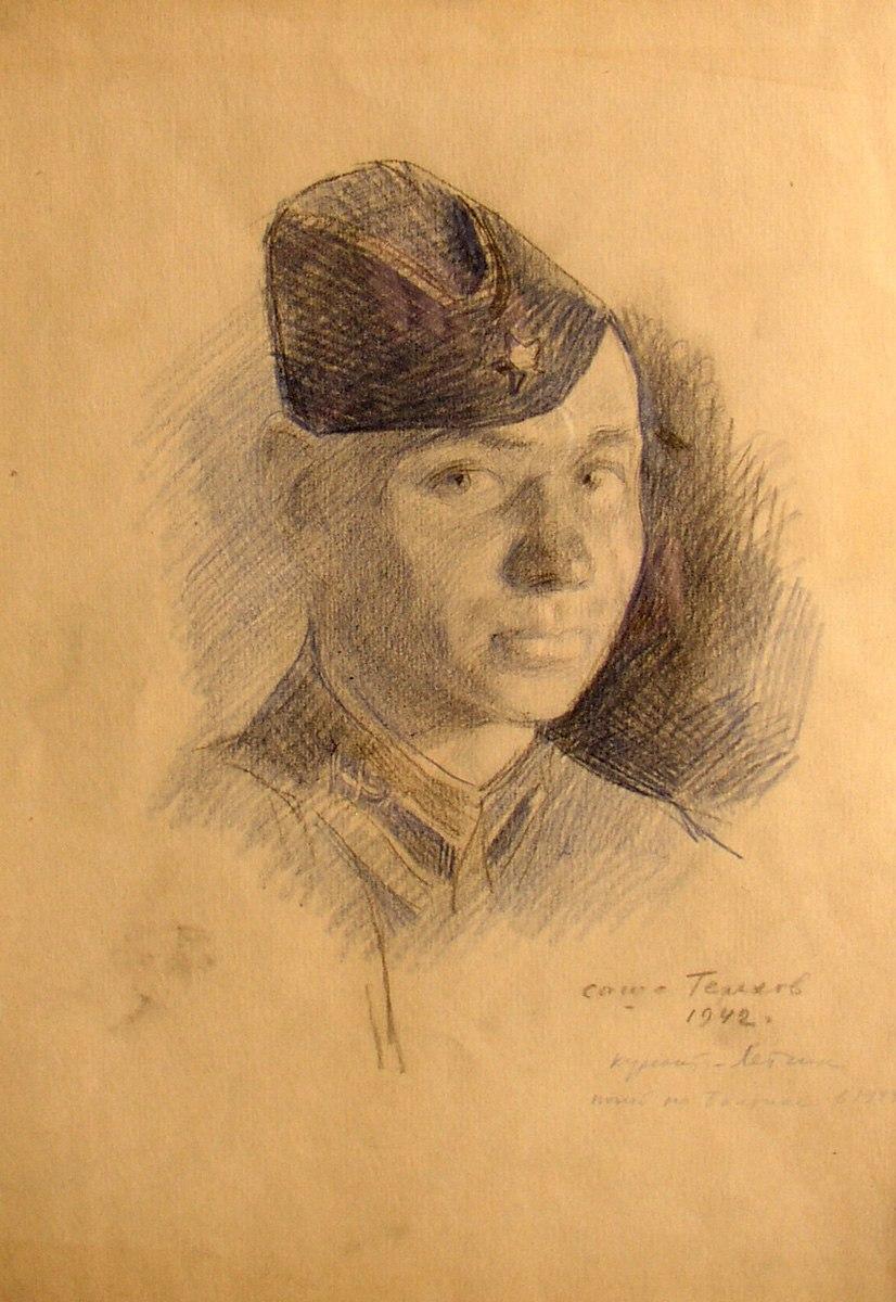 Sasha Terekhov. 1942