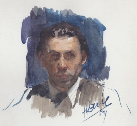 Self-portrait. 1954