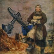 The builder of Uralmash. 1932