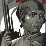 The liberated woman, build socialism. AI Strakhov-Braslavsky. 1926