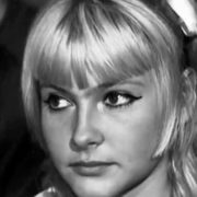Accused of murder. Young actress Nina Maslova. 1969