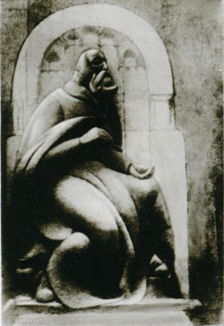 Andrei Rublev. 1918-1919. Gypsum. Not saved