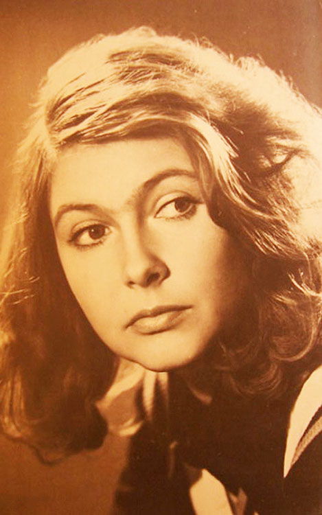 Soviet film actress Nina Maslova