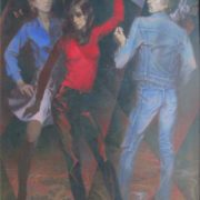 Dance. 1985. Oil on canvas