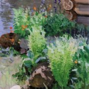 Fern at the pond. 1911