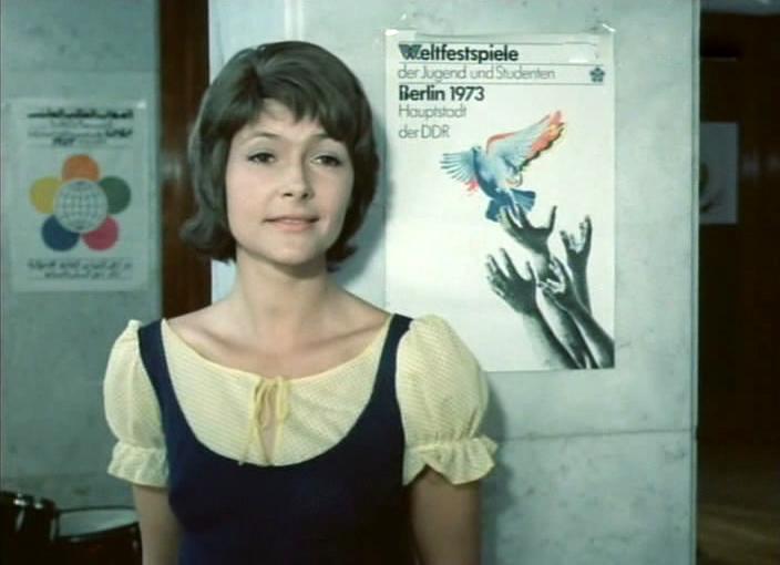 German-Soviet film 'Smile, contemporary'. 1975