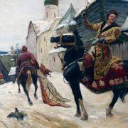 Oprichniks in Novgorod