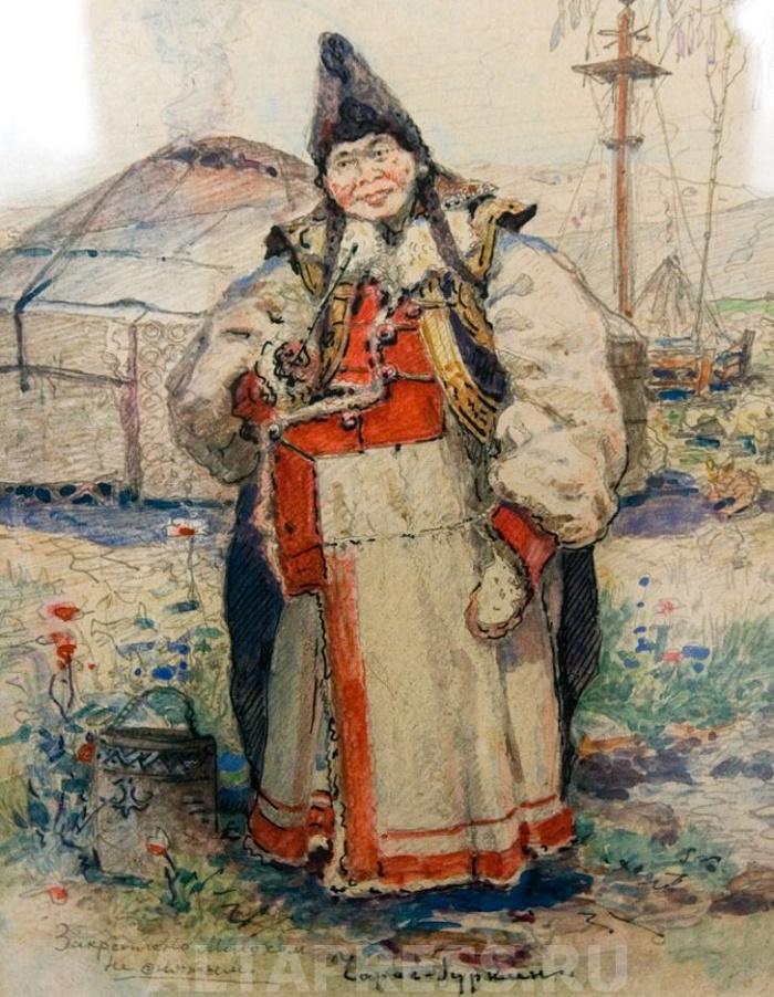 Portrait of Altay type