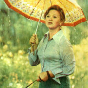 Portrait with rain. 1977
