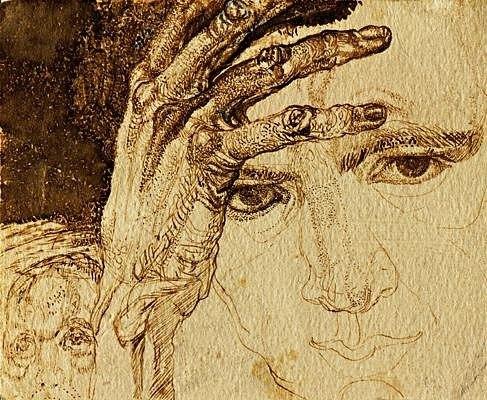Self-portrait. Pavel Nikolayevich Filonov
