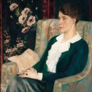 Singer E.N. Glebova portrait