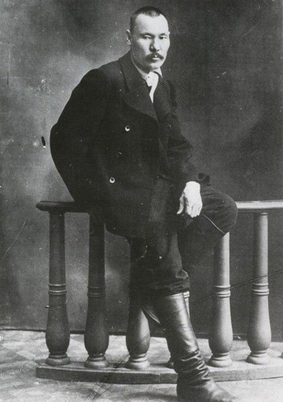 Soviet Russian artist Grigory Ivanovich Gurkin (12 January 1870 - 11 October 1937)