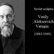 Soviet sculptor Vasily Alekseevich Vatagin (1883-1969)