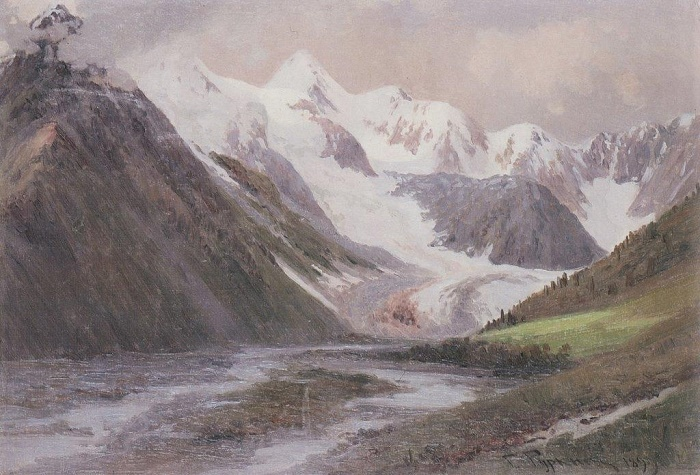The Glacier Gebler - The Origins Of The Katun. 1899