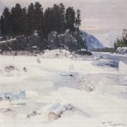 The crown of the Katun. 1910. Oil on canvas