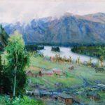 Soviet Russian artist Grigory Ivanovich Gurkin 1870-1937