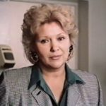 Soviet Russian actress Elena Bushueva-Tsekhanskaya