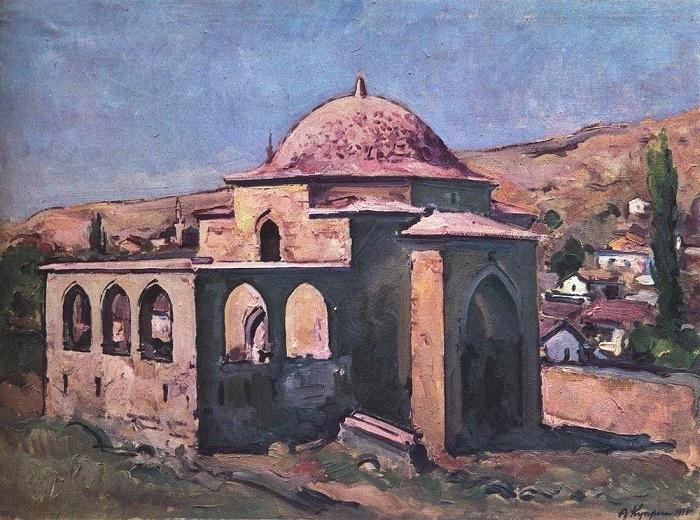 Soviet Russian artist Alexandr Vasilievich Kuprin