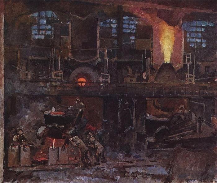 Bessemerovsky shop. 1930
