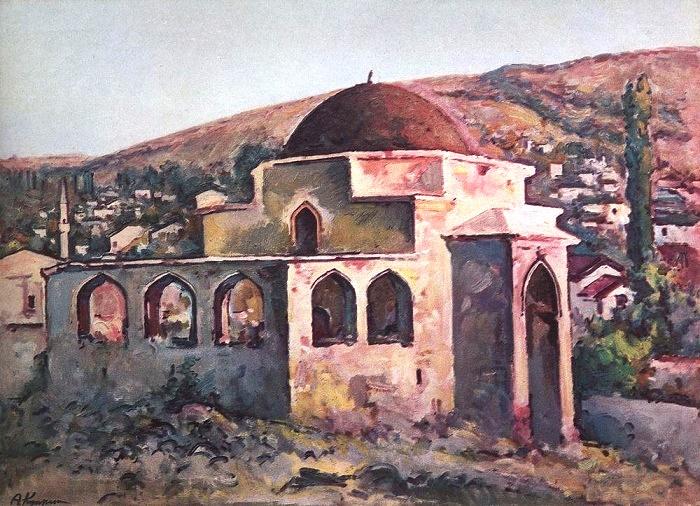 Eski-Dubre. Evening. Bakhchisaray. 1931