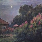 Evening and moon. Ruza, 1925