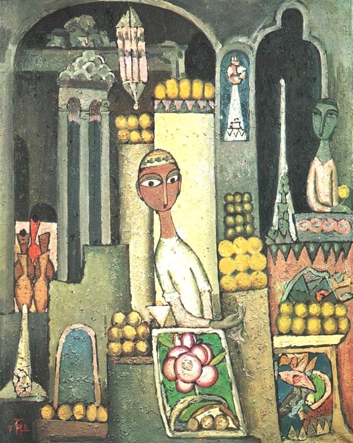 Fruit-shop. 1970