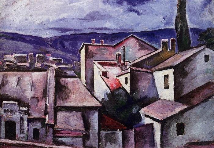 Gudauty. Houses. 1912