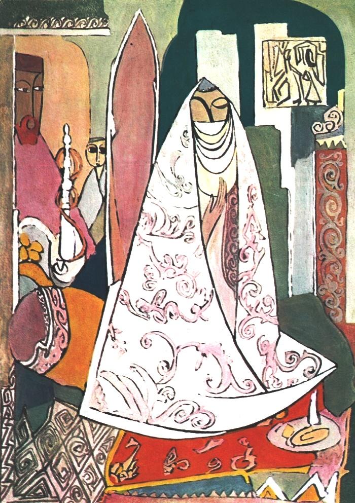 Oriental Interior. Sattar-zadeh's Family. 1969