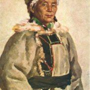 S.I. Dudnik. Portrait of Brigadier Shepherd Kara Ulankina. Altai