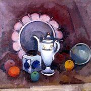 Samovar. Still life. 1922