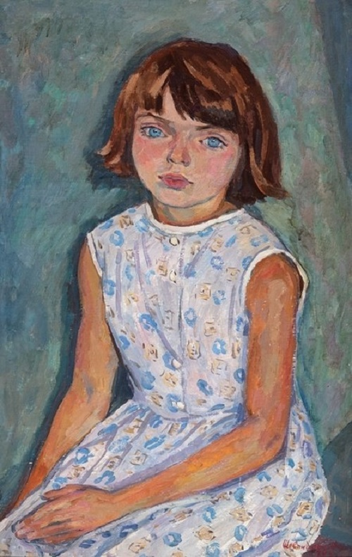 A girl Lyuba
