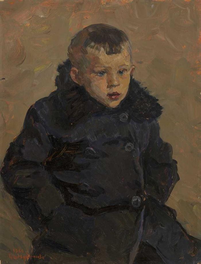 A village boy. 1960