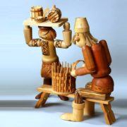 Basket veawer and wood master