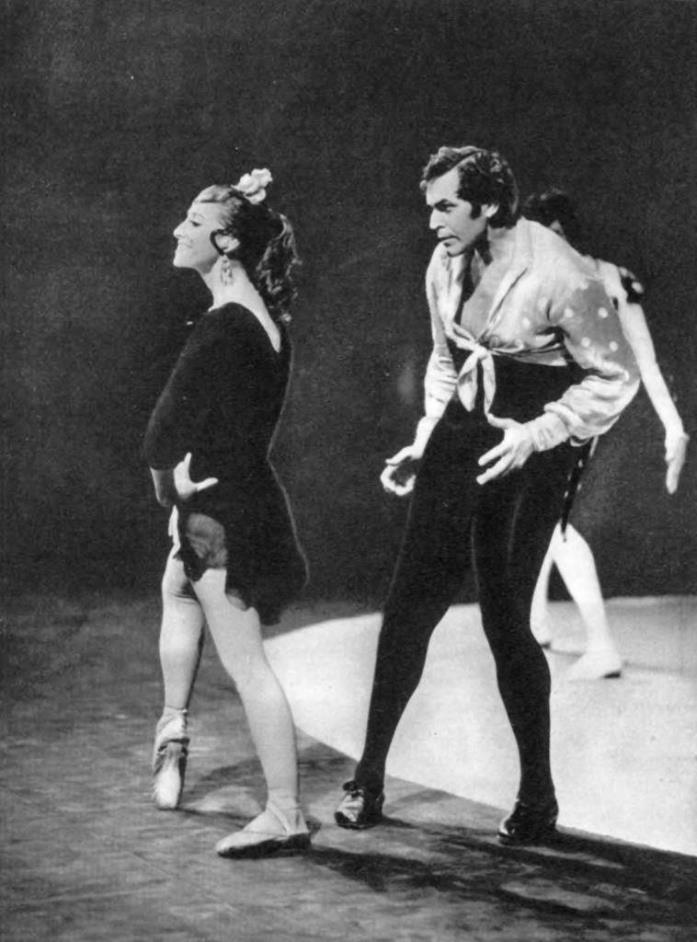 Carmen Suite. Carmen is M. Plisetskaya. Jose - N. Fadeechev