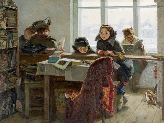 Soviet artist Irina Vasilievna Shevandronova (1928 - 1993)