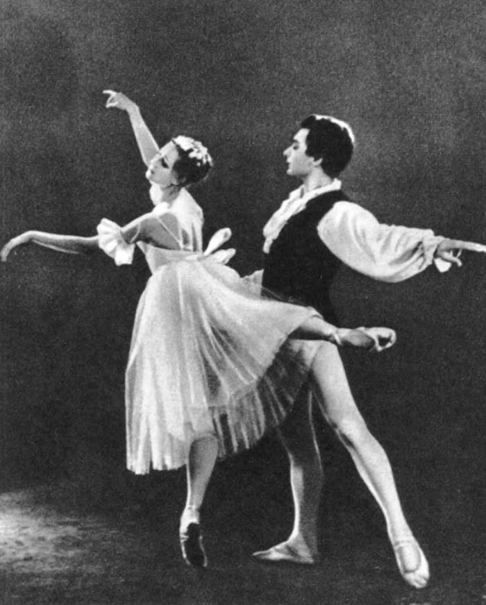 'Chopiniana'. Graduates of the Leningrad School - E. Kondratenko and G. Albert
