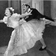 Film-ballet Count Nulin. Nastasya Pavlovna - O. Lepeshinskaya. Count Nulin - S. Koren