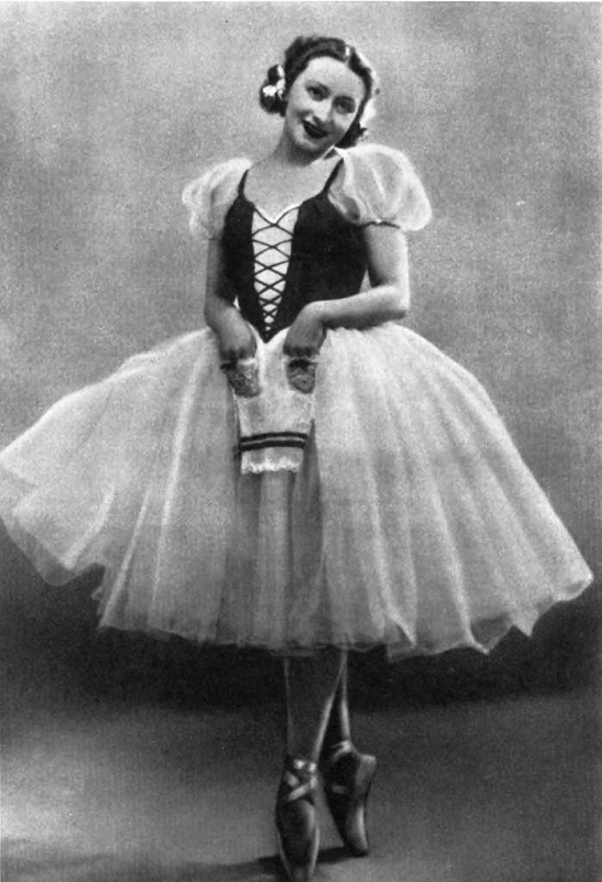 'Giselle'. G. Ulanova