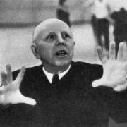 K. Goleizovsky rehearses ...