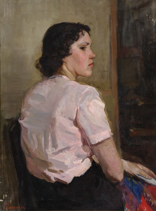 Portrait of a girl. 1951
