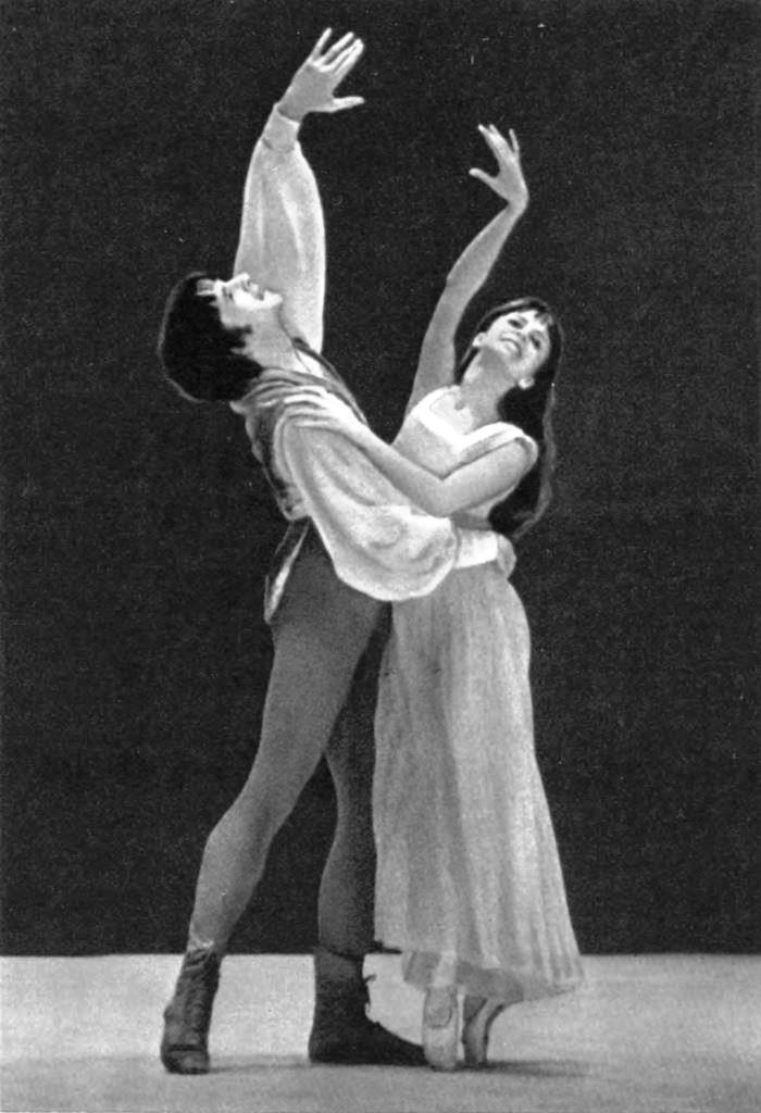 Romeo and Juliet. Juliet - L. Gershunova. Romeo - L. Berdyshev