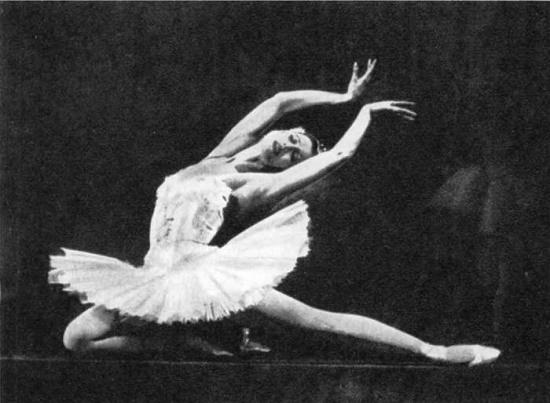'Swan Lake'. Odette - M. Plisetskaya