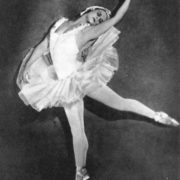 Swan Lake. Odette - M. Semenova