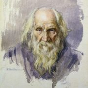 A hundred-year-old man