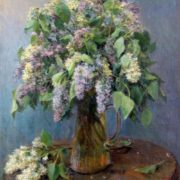 Lilac. 1956. Oil on canvas